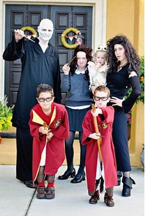 el mgico disfraz de harry potter para toda la familia