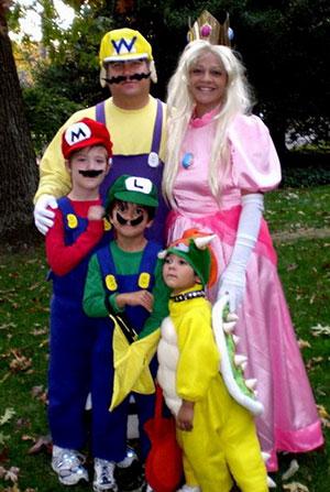 Los 5 mejores disfraces de Halloween para toda la familia