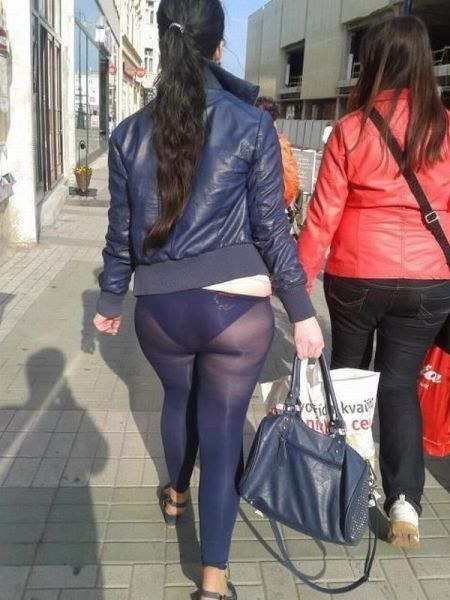 Remarkable, pantyhose are not pants sorry