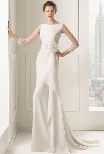 vestidos de novia elegantes de la colección 2015 de rosa clará