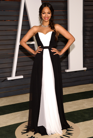 Vestido blanco vestido negro