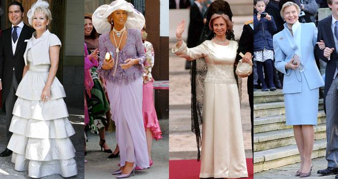 Vestidos de madrina de una boda: trajes para la madre del novio