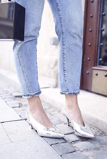 Te contamos qué son los kitten heels y cómo se llevan