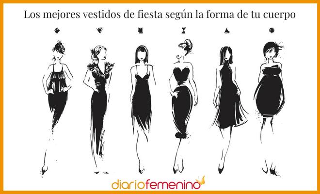 548dc359b3 Descubre cuáles son los mejores vestidos de fiesta según la forma de tu  cuerpo