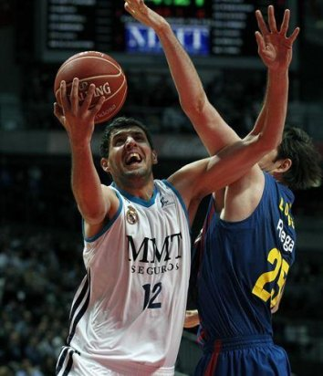 Baloncesto/Liga Endesa.- Nikola Mirotic, nombrado 'MVP Orange' de la temporada regular
