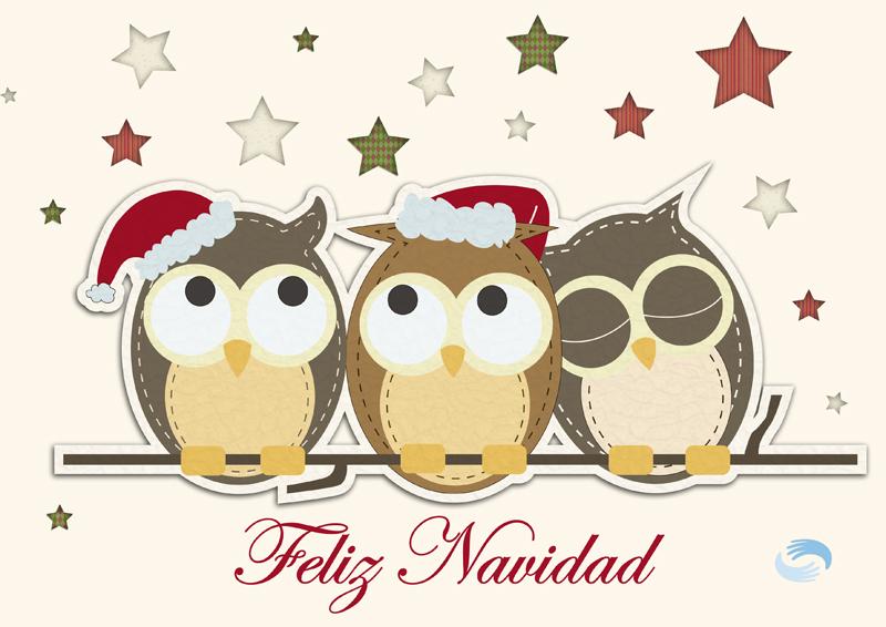 Tarjetas con mensajes para felicitar la navidad - Tarjetas originales navidad ...
