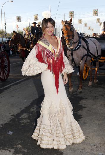 La feria de abril y los trajes de flamenca