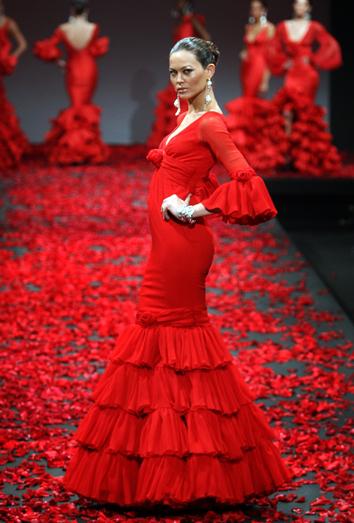 Consejos para sobrevivir al traje de flamenca