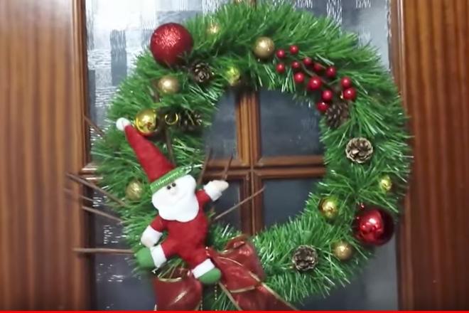Guirnaldas De Navidad Imagenes.Como Crear Sencillas Coronas Y Guirnaldas De Navidad