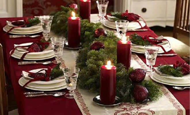 Adornar la mesa para navidad mesa decorada para navidad - Adornar la mesa para navidad ...