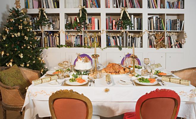 Originales y baratas ideas para decorar tu mesa en navidad for Ideas originales para decorar