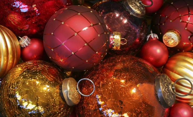 Las mejores ideas para la decoración de Navidad: bolas de navidad