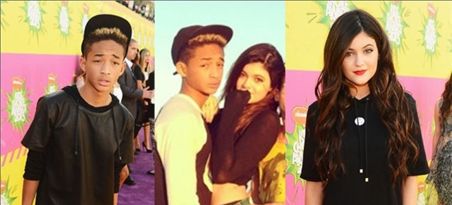 Jaden Smith y Kylie Jenner, pareja de moda en Hollywood