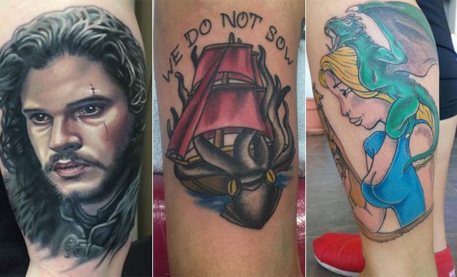 Tatuaje Juego De Tronos