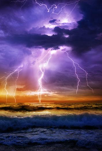 Tormenta y lluvia que hacemos - 5 8
