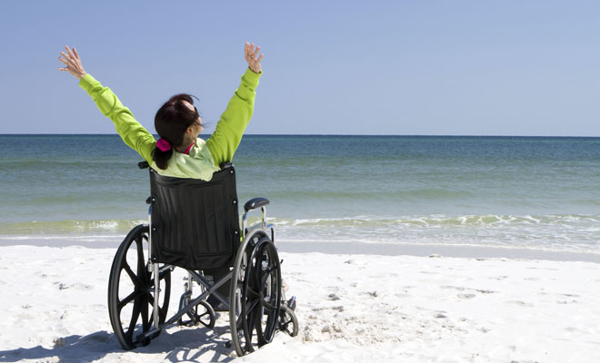 silla de ruedas sonar