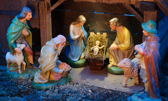 What does it mean to dream of a Christmas nativity scene