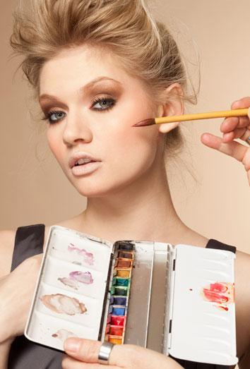 soñar con maquillaje