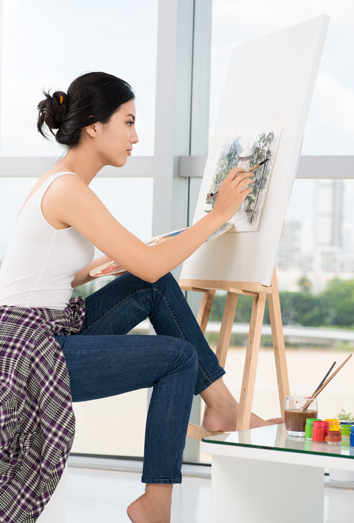 Resultado de imagen de pintar un cuadro