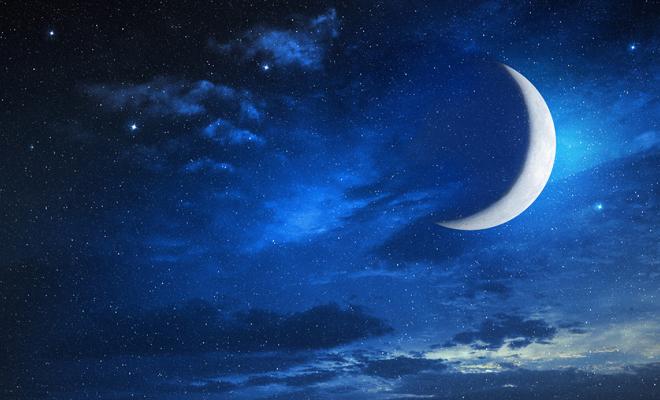 El secreto de soñar con la luna creciente: el momento de la renovación