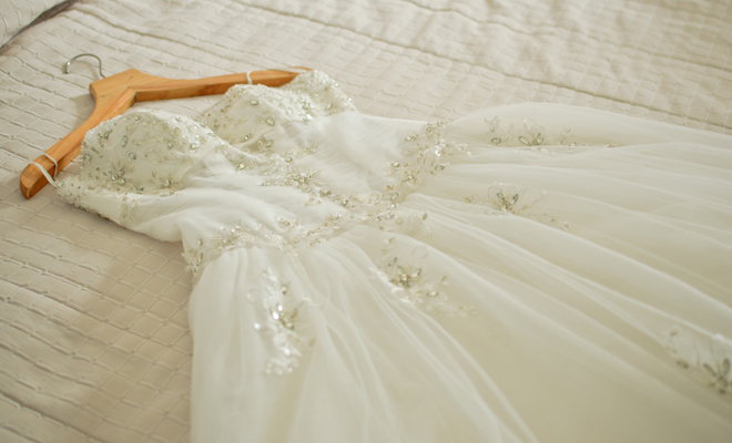 Que es sonarse con vestido de novia