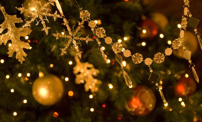 Gente Feliz En Navidad.Poner El Arbol De Navidad Con Mucho Tiempo Antes Te Hace Mas