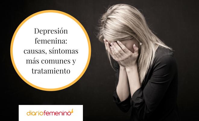 ¿Estás deprimida? Síntomas de la depresión femenina