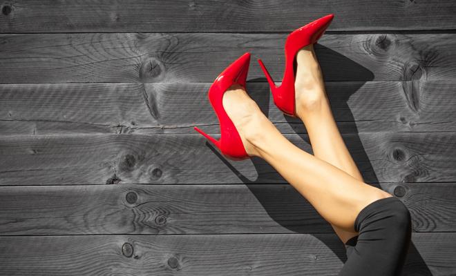 calidad primero 100% de alta calidad zapatos genuinos Soñar con zapatos rojos: vive con toda la pasión