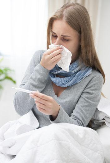 El vinagre baja la fiebre
