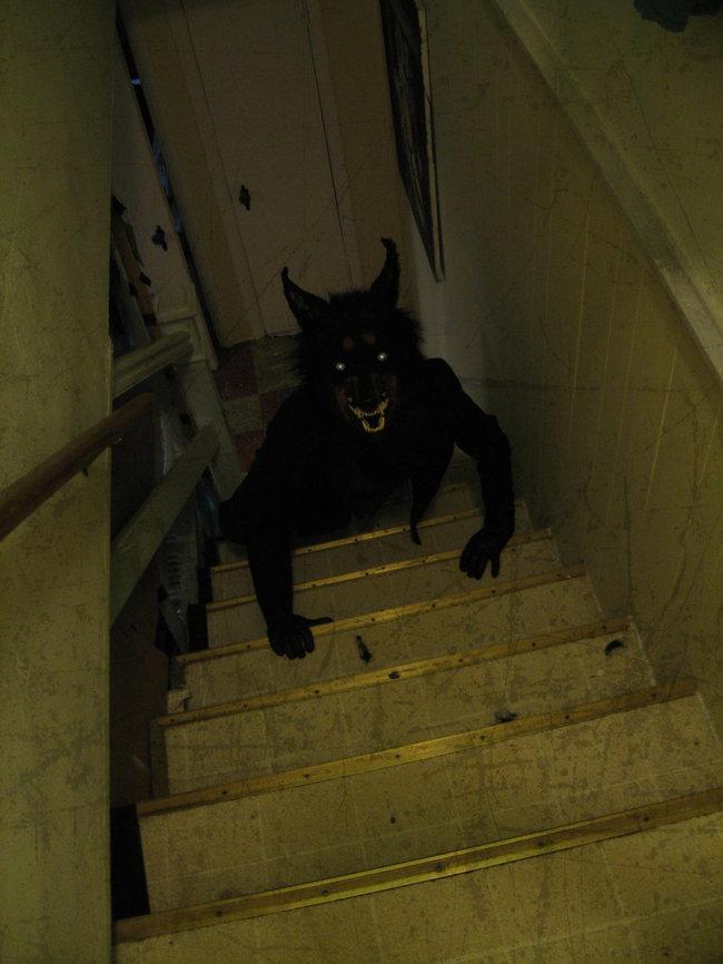 Estar solo en casa produce insomnio los momentos m s for Escaleras por fuera de la casa