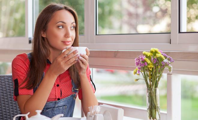 Foto del te de manzanilla en ayunas para bajar de peso cualquier caso