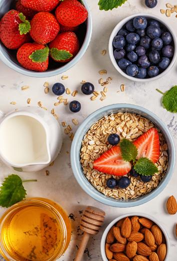 Desayunos nutritivos muy ricos