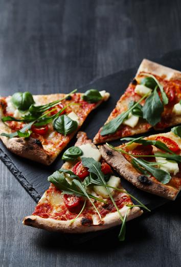 Pizzas que son sanas y no engordan