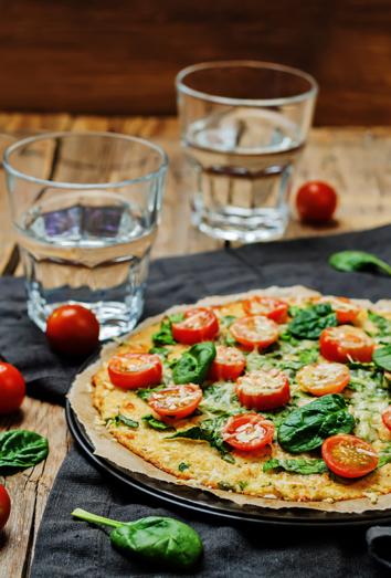 Pizzas sanas para comer con gusto