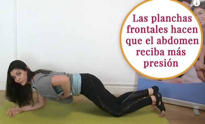 hacer abdominales estando embarazada