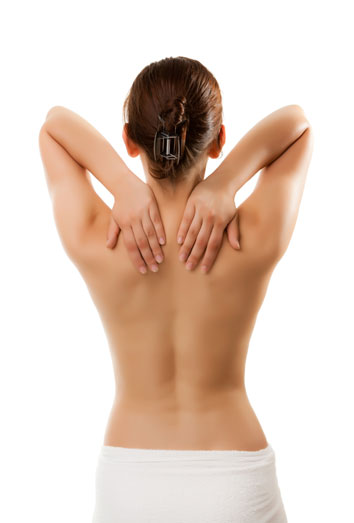 parte superior masaje pequeña