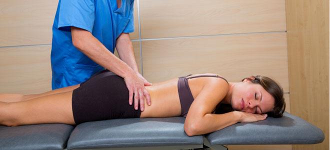 Resultado de imagen de masaje lumbar