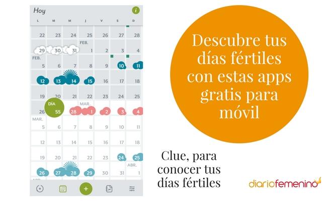 Dias Fertiles Mujer Calendario.Descubre Tus Dias Fertiles Con Estas Apps Gratis Para Movil