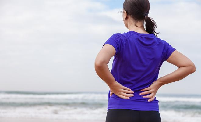 Por qué se produce el dolor de espalda en la parte media