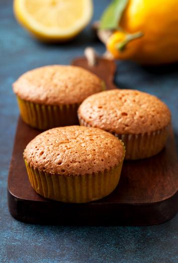 Muffins con arándanos para adelgazar